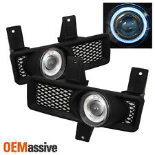 Fits 97-98 F150 Expedition Navigator Halo Projector Fog Lights Lamps Left+Right