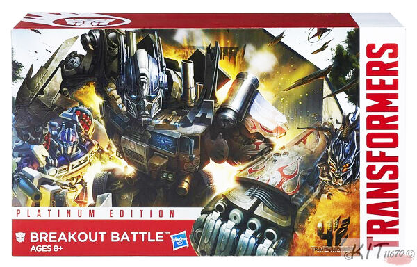 Transformers Platinum Breakout Battle Optimus Prime Vehicon Rollbar New No Box