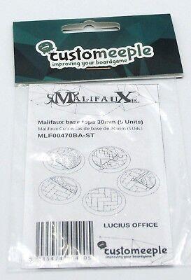 30mm Base Tops Guild Floor 5 Customeeple MLF00470BA-ST Malifaux Lucius Office