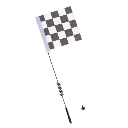 Metal 1:10 RC Car Antenna with Flag Set for Axial SCX10 90046 TRX4 RC4WD D90
