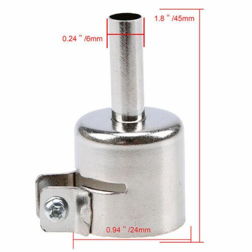 Heat Gun Round Nozzles Hot Air Heat Resisting Nozzles Tips 3//4//5//6//7//8//10//12mm