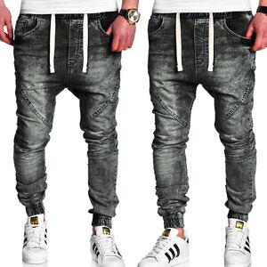 jogger jeans chino hose slim fit jogginghose in jeans look. Black Bedroom Furniture Sets. Home Design Ideas