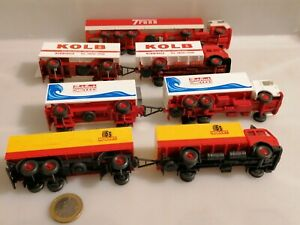 G851-WIKING-MERCEDES-MAN-SCANIA-TRESS-KOLB-HOLERT-PACKFISCH-1-87-H0-4-Modelle