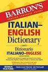 Italian-English Dictionary by Barron's Educational Series Inc.,U.S. (Paperback, 2016)