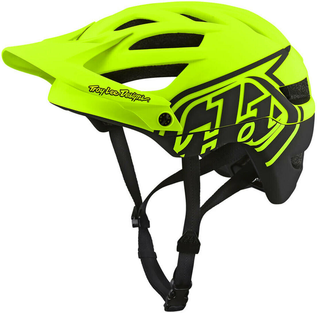 Troy Lee A1 MIPS MTN Cycling Helmet - amarillo