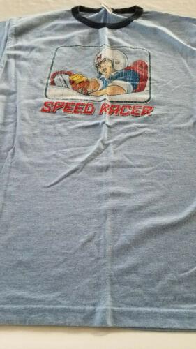 RARE Vintage Speed Racer Ringer TShirt Men's Large