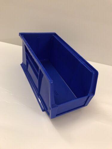AKRO-MILS 30230 BLUE Hang//Stack Bin Blue 10-7//8 x 5-1//2 x 5