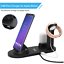 thumbnail 8 - 4IN1 Wireless Charger Stand Charging Dock Station For iPhone 13 Pro Apple Watch