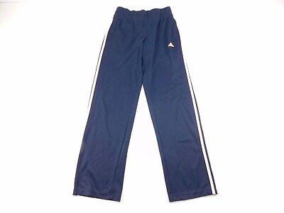 Adidas Da Donna Blu Bianco 3 Righe Elastico Vita Athletic Pantaloni Tuta S Sconto Online