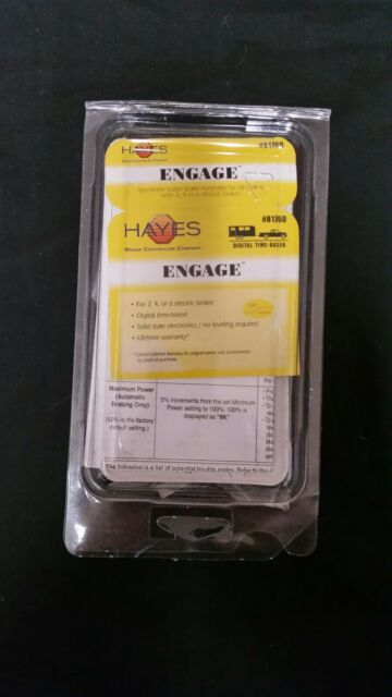 Hayes 81760 Engage Controller