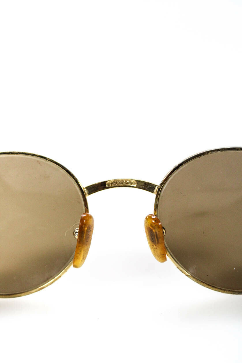 Gianni Versace Womens Vintage Tinted Round Lens S… - image 4