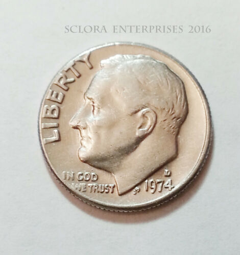 1974 D Roosevelt Dime  **FREE SHIPPING**