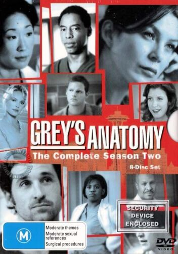 1 of 1 - GREY'S ANATOMY SEASON 2 : NEW DVD
