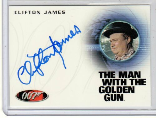 James Bond 50th Anniversary series 2 Clifton James auto card