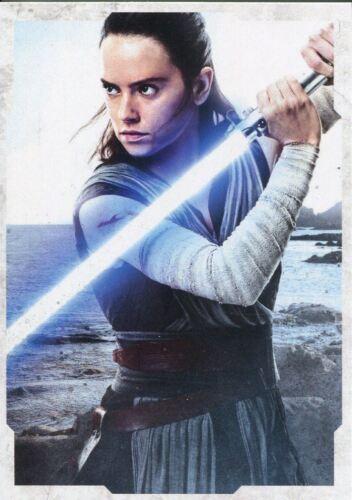 Star Wars Last Jedi Portraits Chase Card CP-2 Rey