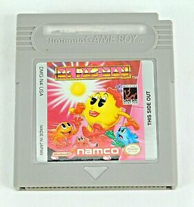 NAMCO-Ms-PACMAN-Nintendo-Gameboy-Game-Cartridge-DMG-N4-USA-with-Case