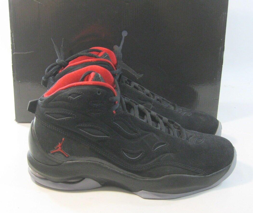 Nike Air Jordan ' Formación en ' Jordan (Negro / Universitaria Red-Stealth 364808 061 9155a8