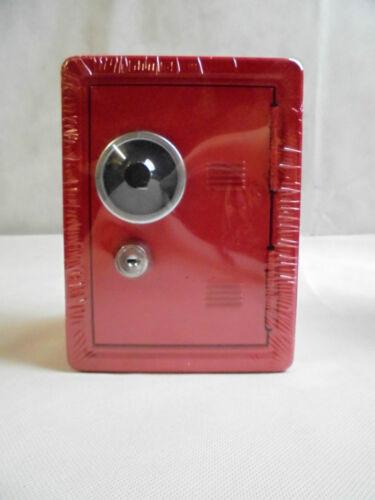 Spardose Mini-Tresor 4 Farben
