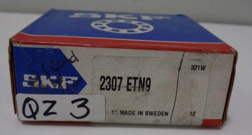SKF SELF-ALIGNING BALL BEARING 2307 ETN9 NIB