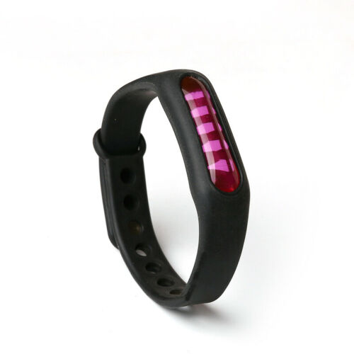 Mosquito Repellent Bracelet Ultrasonic Insect Repeller Wristband Portable FREE