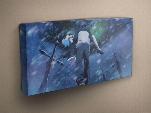 Zero #12 Canvas Art Print #001845 Re