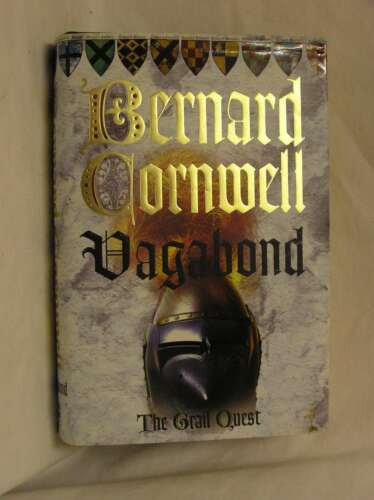 1 of 1 - The Grail Quest (2) - Vagabond, Bernard Cornwell, Very Good Book
