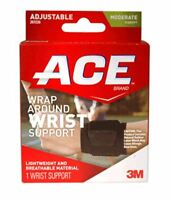 Ace Neoprene Wrist Brace One Size 1 Each (pack Of 5) on sale