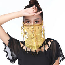 5a991527a482 Belly Dance Face Veil India Dance Outfit Halloween Carnival Costumes Costume