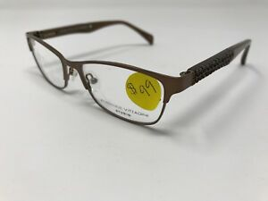 365390aee7b6 Adrienne Vittadini Eyeglass Frame Bronze AV 50S 51 16-135 SMDBRN ...