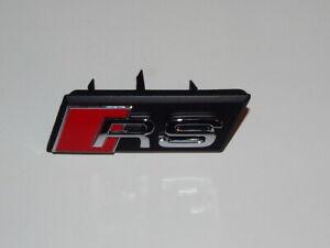 New-Genuine-Audi-RSQ3-Front-Grille-Emblem-RS-8U0853736A-2ZZ