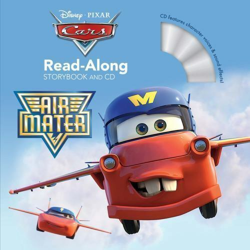 Cars Toons: Air Mater Read-Along Storybook and CD by Auerbach, Annie in Used -