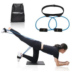 Women-Booty-Butt-Band-Workout-Resistance-Belt-Tone-Firm-Gym-Fitnesss-Exercise