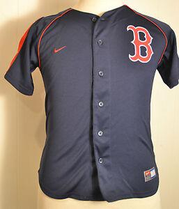 timeless design c06f0 fd626 Details about Nike Boston Red Sox Jersey Kevin Youkilis #20 Baseball MLB  Kids Medium 12/14