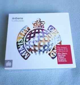 VARIOUS-ANTHEMS-COLLECTION-MINISTRY-OF-SOUND-5CD-SET-2011-DANCE-80S-DISCO-CD