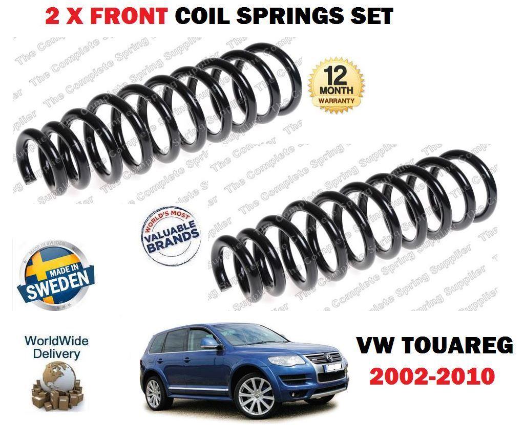 Für VW Touareg 2.5 Tdi 3.0 V6 3.2v6 2002-2010 Neu 2 X Vorderen Schraubenfedern