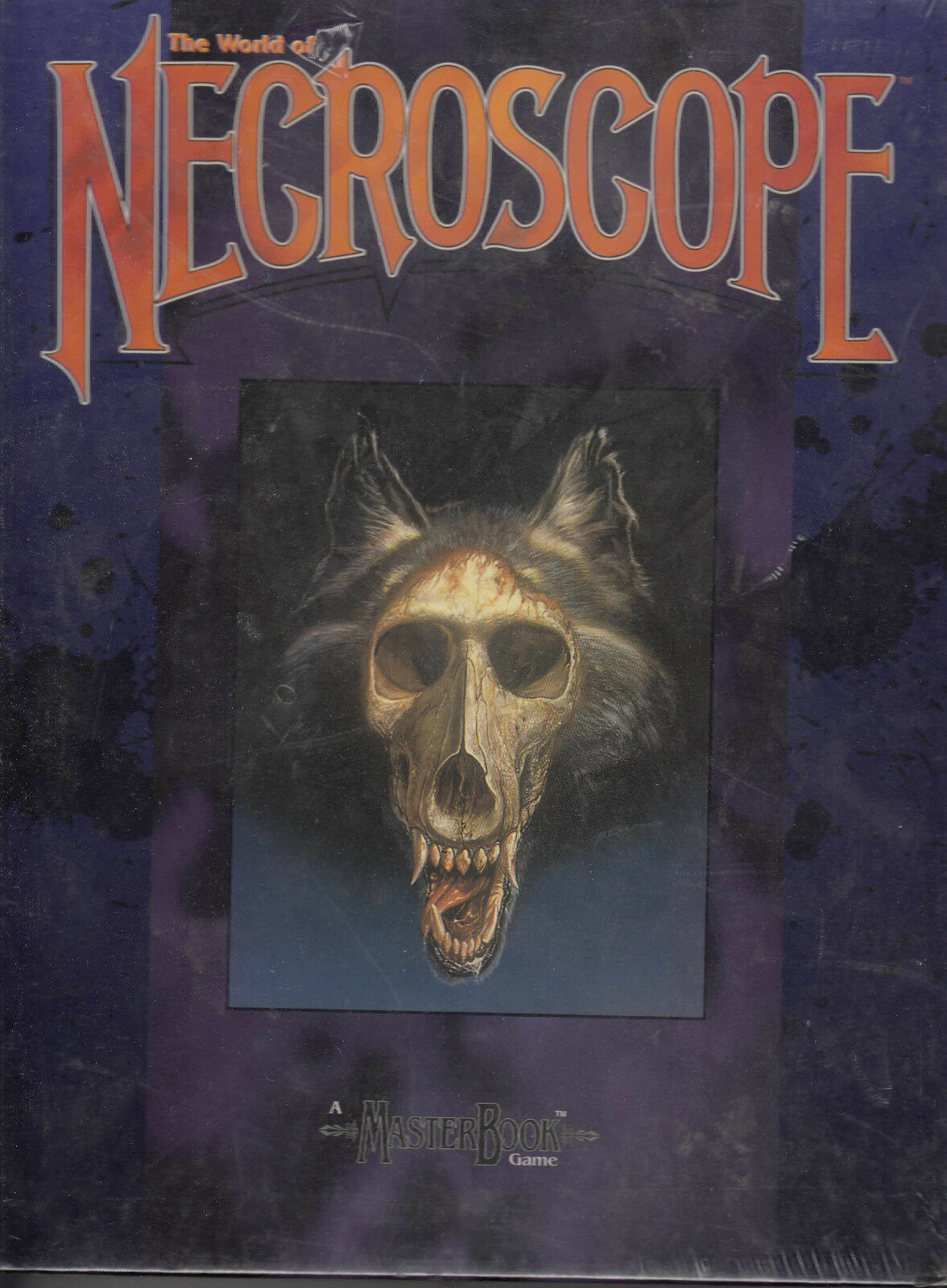 The World of Necroscope - WEST WEST WEST END GAMES - WEG25000 - RPG ENG NEW IN WRAPPED BOX 51401e