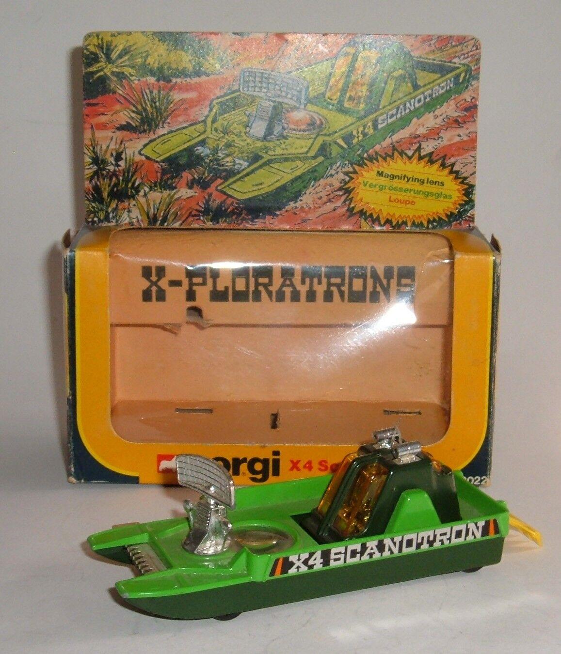 Corgi Toys No. D2022, X4 Scanotron, - Superb.