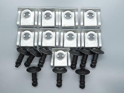 5er Set Unterfahrschutz Motorschutz Schraube mit Halteklammer SKODA Superb 3U4
