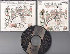 Riuichi Sakamoto & Danceries  CD THE END OF ASIA (c) 1983 JAPAN DENON