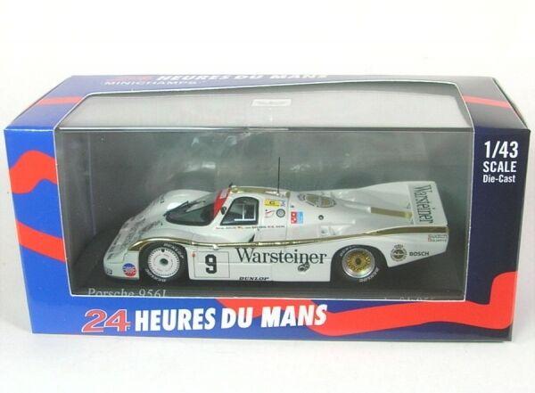 Porsche 956l N°9 24h Lemans 1984 (Walter Brun - Leopold Prince de Bayern - Bob
