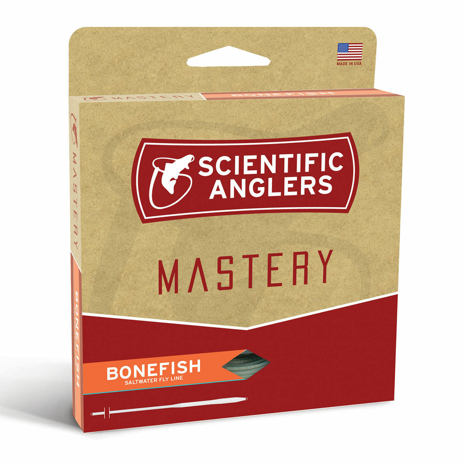 SCIENTIFIC ANGLERS MASTERY BONEFISH WF7F  7 WEIGHT SALTWATER FLOATING FLY LINE