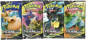 1 POKEMON SUN & MOON TEAM UP BOOSTER PACK | 1 BOOSTER PACK