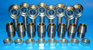1-2-034-20-Thread-x-1-2-034-Bore-4-Link-Rod-End-Kit-Heim-Joints-Bung-1-1-8-x-120