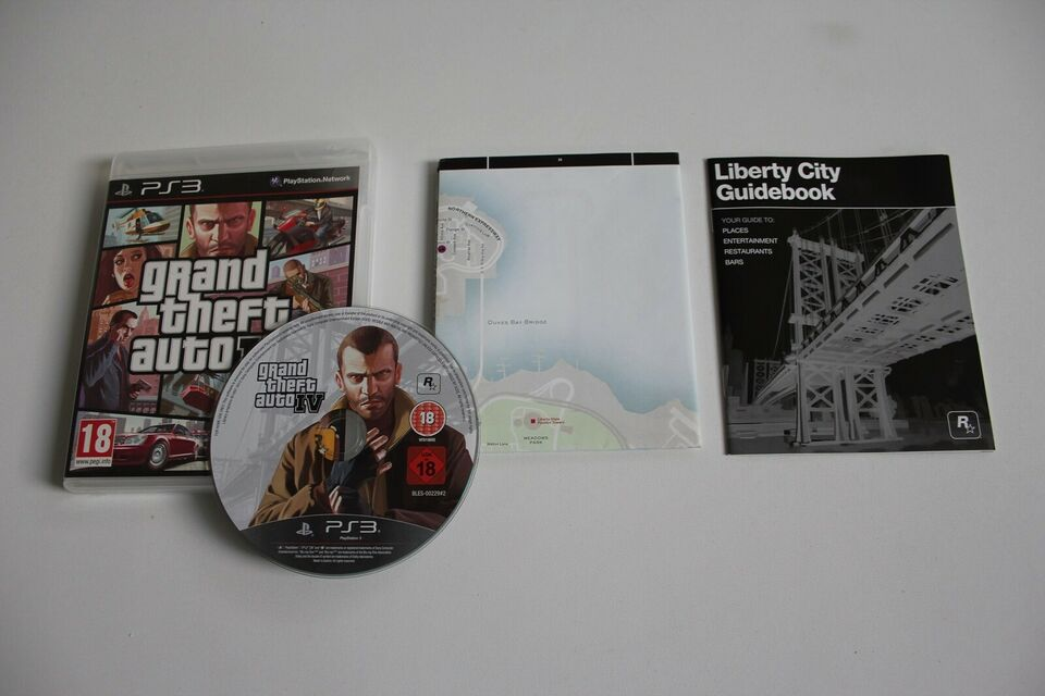 Grand Theft Auto IV, PS3, action