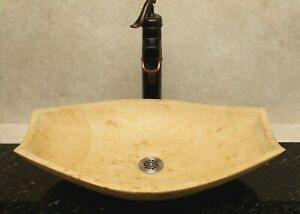 Stone-vessel-sink-bathroom-sinks-marble