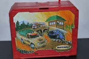 Matchbox Travel Fold Up Ranger Station 2001 Mattel
