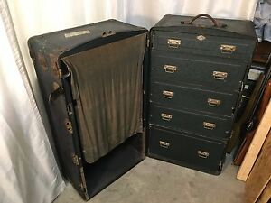 antique 1900 s steamer trunk ebay 87960
