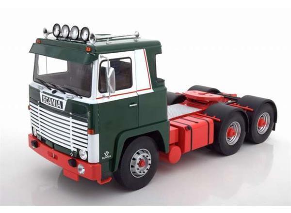 garantizado Road King Scania Scania Scania Lbt 141 1976 ASG verde blancoo 1 18 180012  Venta barata
