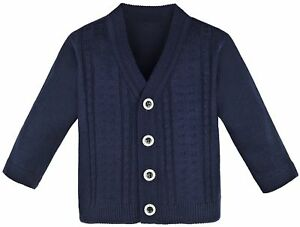 03a5a4f63b51 Lilax Baby Boy Cable-Knit Basic Knit Cardigan Sweater 12-18 Months ...