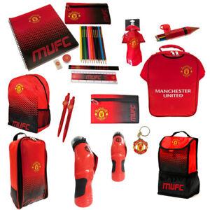 8424ef3d17bc Manchester United FC Back To School Gym Bag Backpack Boot Bag Child ...
